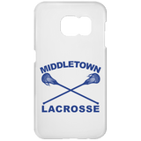 Samsung Galaxy S7 Phone Case - Middletown Girls Lacrosse - Sticks Logo