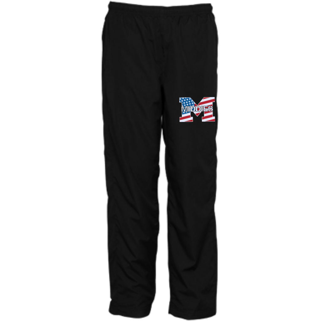 Youth Wind Pants - Middletown American Flag