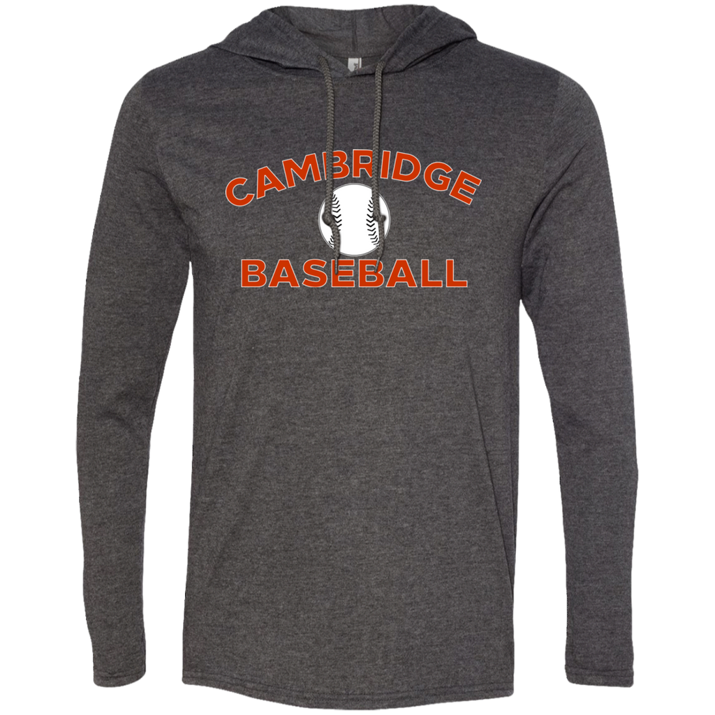 Men's T-Shirt Hoodie - Cambridge Baseball