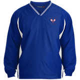 Youth Colorblock V-Neck Pullover - South Glens Falls Tennis