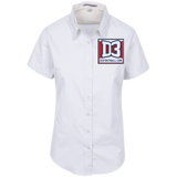 Women's Short Sleeve Blouse - D3Football.com