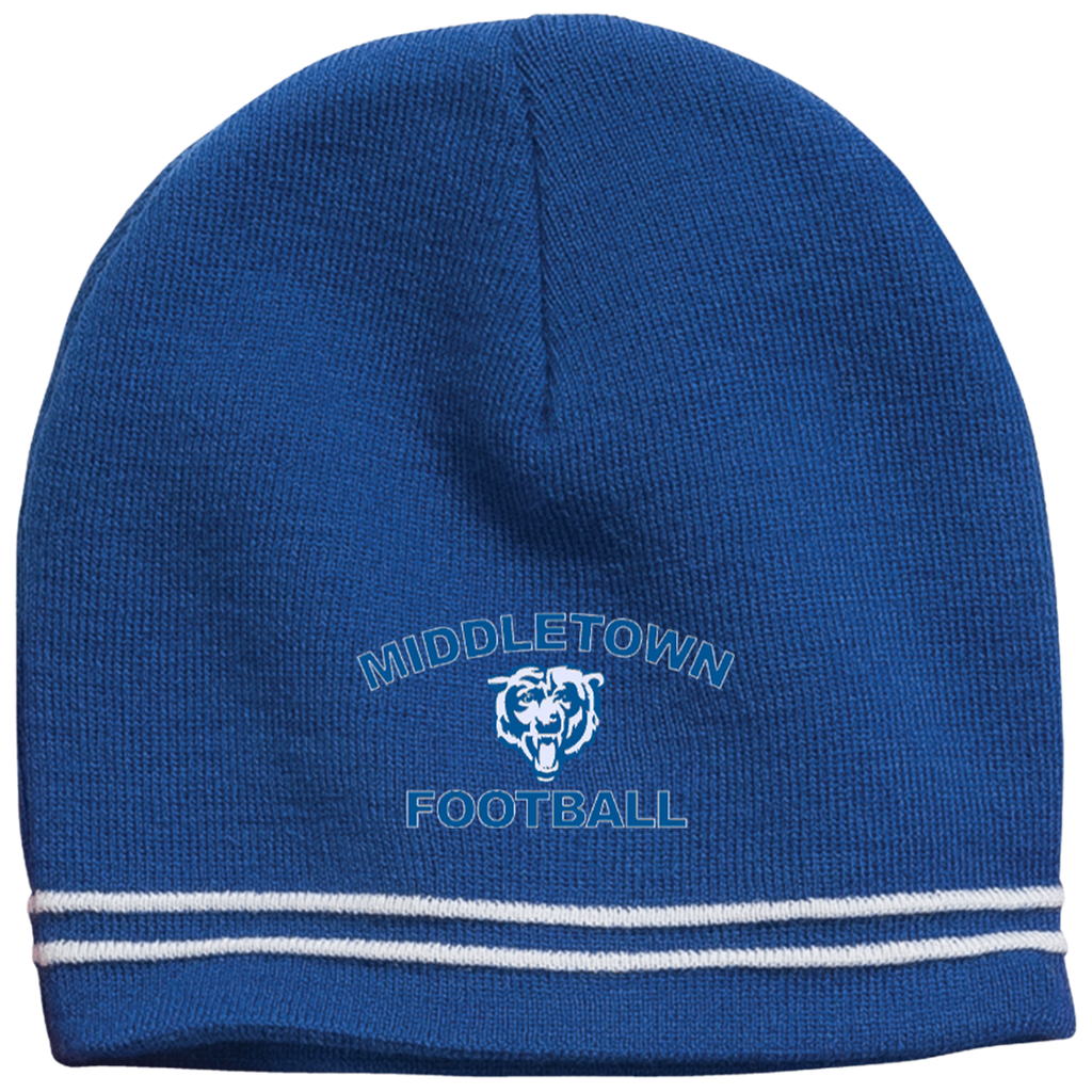Colorblock Beanie - Middletown Football