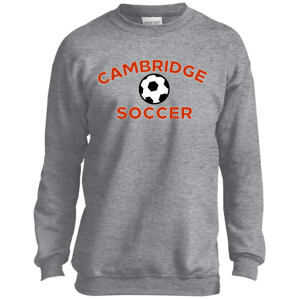 Youth Crewneck Sweatshirt - Cambridge Soccer