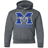 Youth Hooded Sweatshirt - Middletown Softball