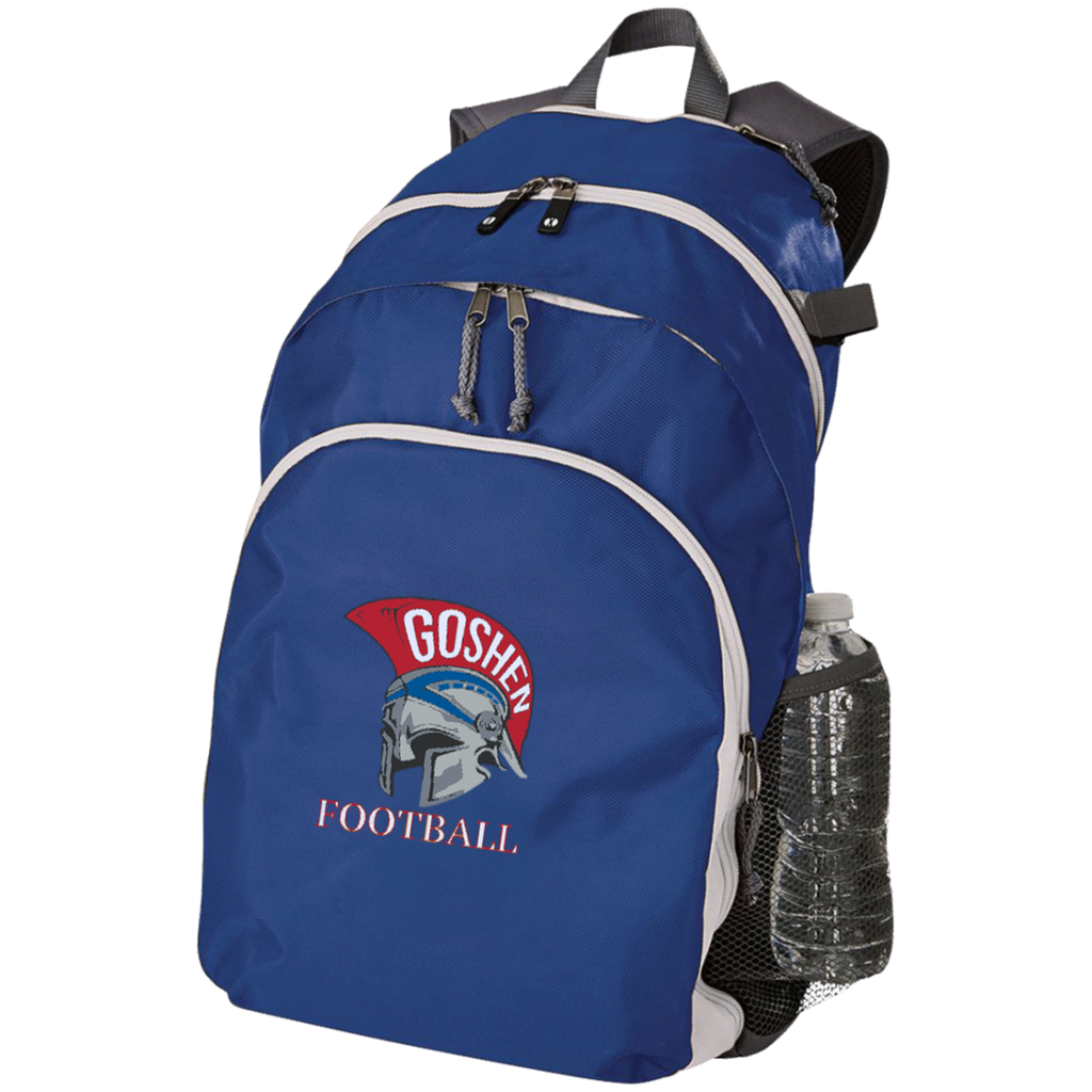 Large Laptop Backpack - Goshen Football