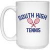 15 oz. Coffee Mug - South Glens Falls Tennis