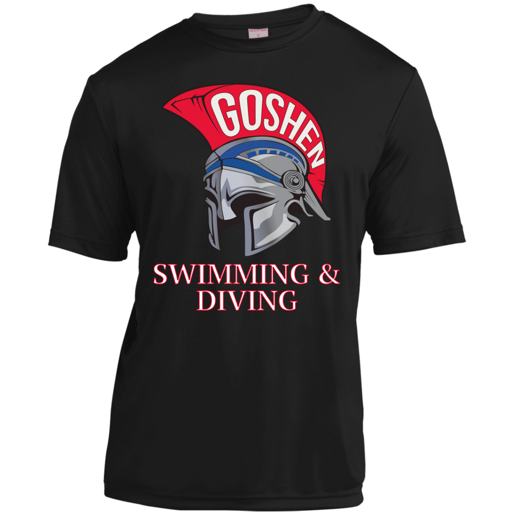 Youth Moisture Wicking T-Shirt - Goshen Swimming & Diving