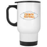 Travel Coffee Mug - Corinth Football