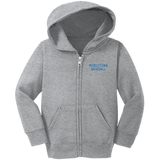 Toddler Full-Zip Hooded Sweatshirt - Middletown Baseball
