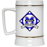 22 oz. Stein - Middletown Baseball - Diamond Logo