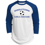 3/4 Sleeve Baseball T-Shirt - Middletown Girls Soccer