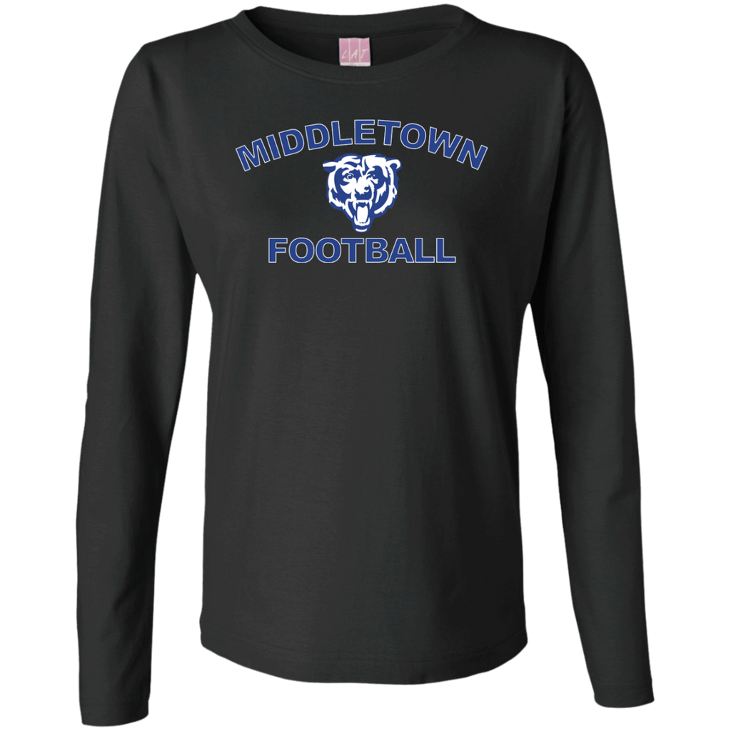 Women's Long Sleeve T-Shirt - Middletown Football