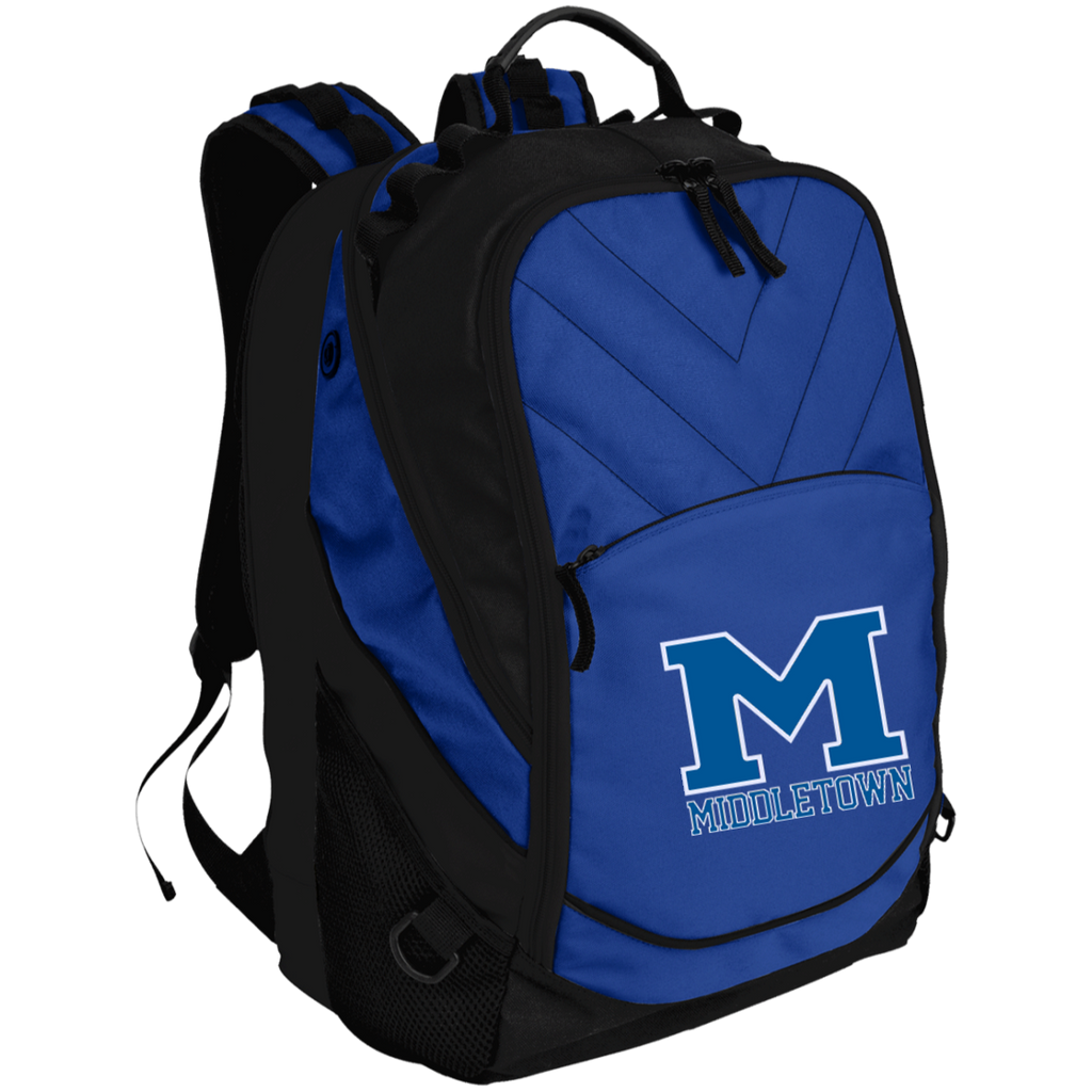 "Small Laptop Backpack - Middletown ""M"""