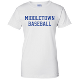 Women's Cotton T-Shirt - Middletown Baseball