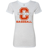 Women's Premium T-Shirt - Cambridge Baseball - C Logo
