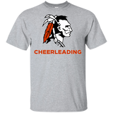 Youth Cotton T-Shirt - Cambridge Cheerleading - Indian Logo