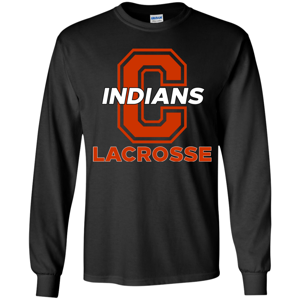 Youth Long Sleeve T-Shirt - Cambridge Lacrosse - C Logo
