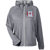 Women's Heathered Performance Jacket - D3Football.com