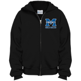 Youth Full-Zip Hooded Sweatshirt - Middletown Middie Girls Soccer
