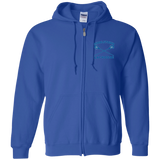 Men's Full-Zip Hooded Sweatshirt - Middletown Girls Lacrosse - Sticks Logo