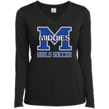 Women's Moisture Wicking Long Sleeve T-Shirt - Middletown Middie Girls Soccer