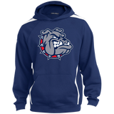 Colorblock Hooded Sweatshirt - South Glens Falls Mascot