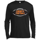 Men's Moisture Wicking Long Sleeve T-Shirt - Corinth Football