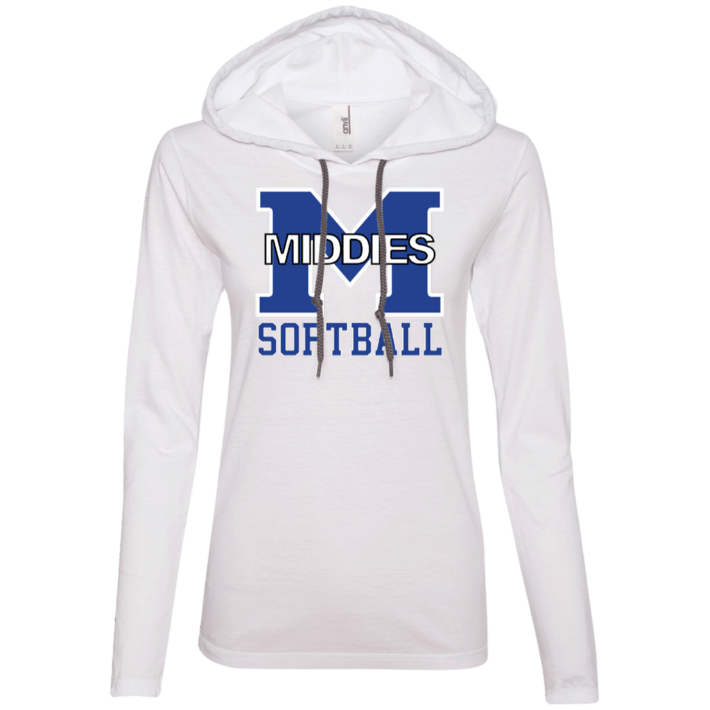 Women's T-Shirt Hoodie - Middletown Softball