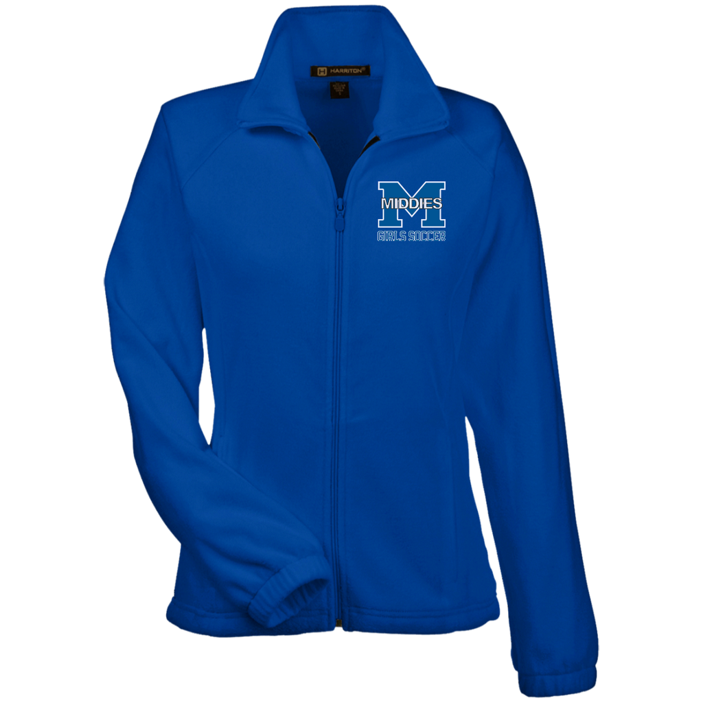 Women's Full-Zip Fleece - Middletown Middie Girls Soccer