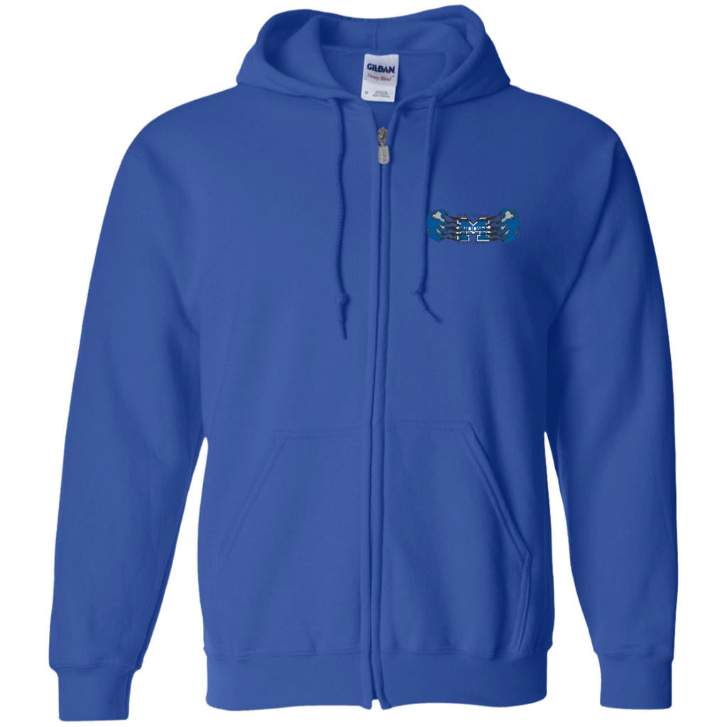 Men's Full-Zip Hooded Sweatshirt - Middletown Unified Basketball