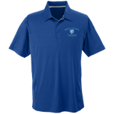 Men's Solid Moisture Wicking Polo - Middletown Tennis - Bear Logo