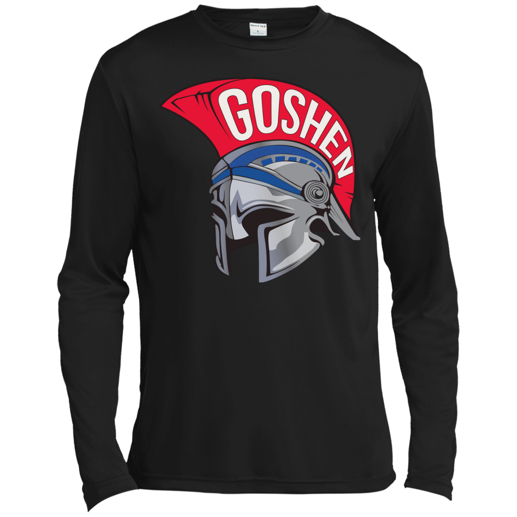 Men's Moisture Wicking Long Sleeve T-Shirt - Goshen Helmet