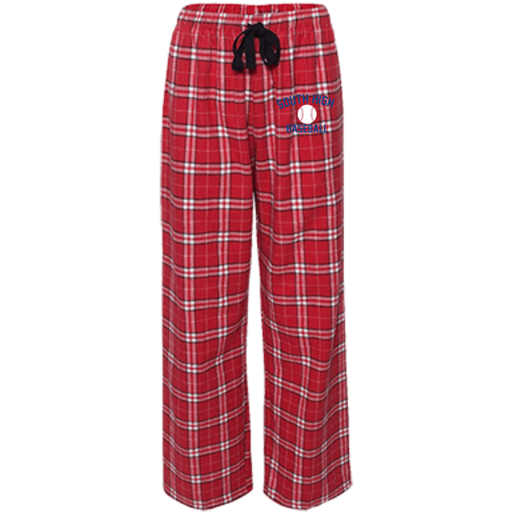 Youth Flannel Pants - South Glens Falls Baseball