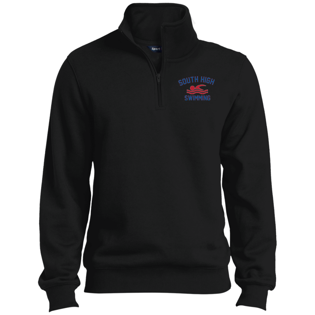 Men's Quarter Zip Sweatshirt - South Glens Falls Swimming