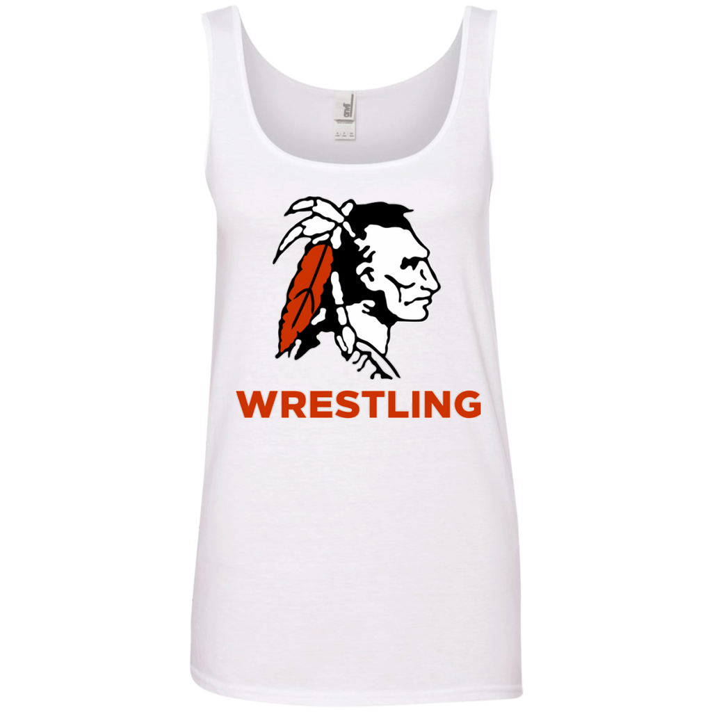 Women's Tank Top - Cambridge Wrestling - Indian Logo