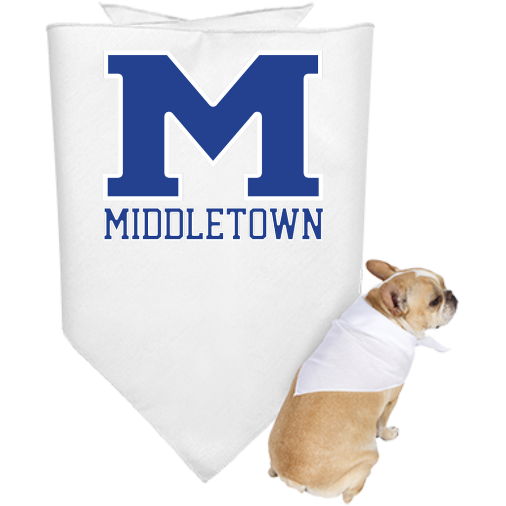 "Doggie Bandana - Middletown ""M"""