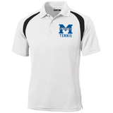 Men's Colorblock Slim Fit Moisture Wicking Polo - Middletown Tennis