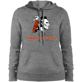 Women's Hooded Sweatshirt - Cambridge Track & Field - Indian Logo