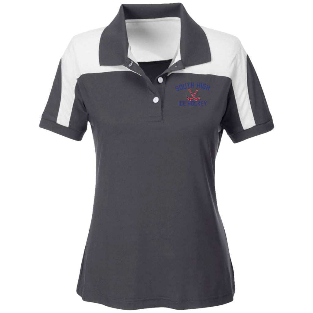 Women's Solid Polo - South Glens Falls Ice Hockey
