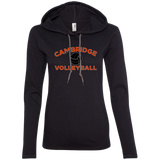 Women's T-Shirt Hoodie - Cambridge Volleyball