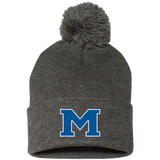 Pom Pom Knit Winter Hat - Middletown Block