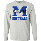 Men's Long Sleeve T-Shirt - Middletown Softball
