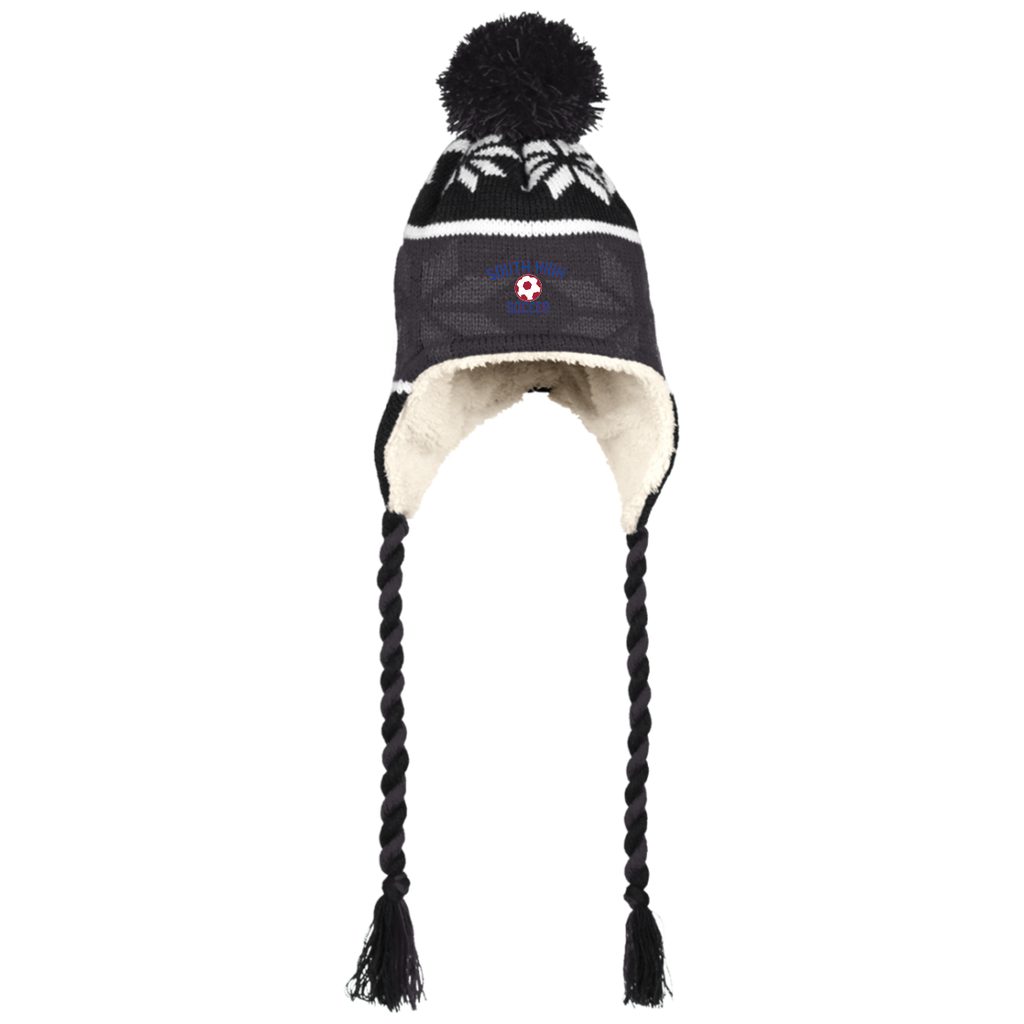 Winter Hat with Ear Flaps - South Glens Falls Soccer