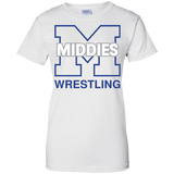 Women's Cotton T-Shirt - Middletown Wrestling