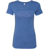 Women's Premium T-Shirt - Middletown Softball - Block Logo