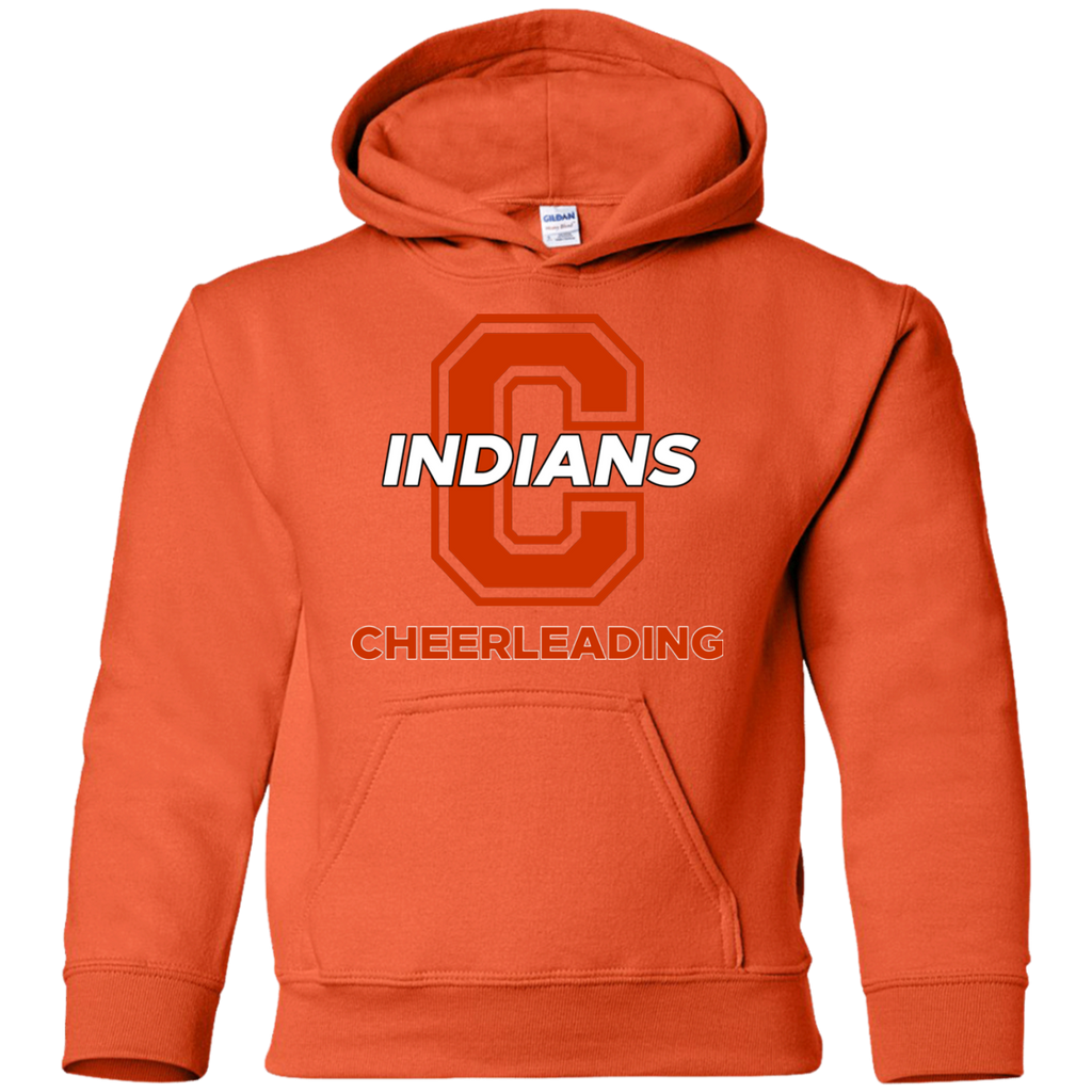 Youth Hooded Sweatshirt - Cambridge Cheerleading - C Logo