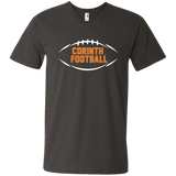 Men's V-Neck T-Shirt - Corinth Football