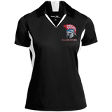 Women's Colorblock Moisture Wicking Polo - Goshen Gladiators