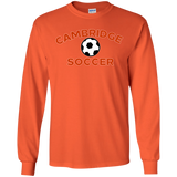 Men's Long Sleeve T-Shirt - Cambridge Soccer