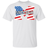 Youth Cotton T-Shirt - Middletown American Flag